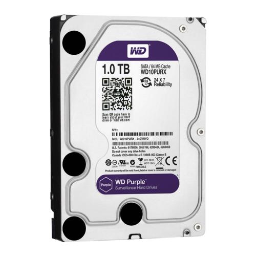 "HDD Western Digital Purple 1000GB SATA3 3,5"" (Rögzítőkhöz ajánljuk!)"