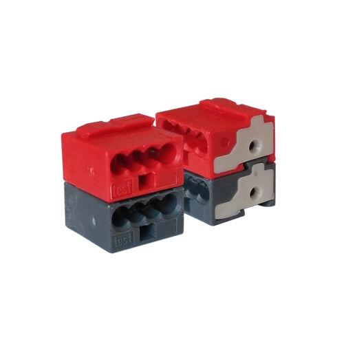 WAGO vezeték összekötő 2x4x0,5 fekete 243-211